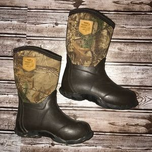 LaCrosse Lil Alpha Lite Real Tree Kids Boots (12)